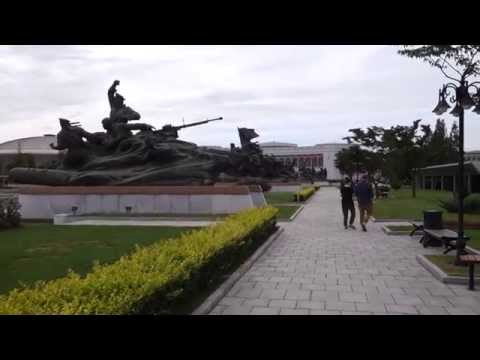 Tour of the Victorious Fatherland Liberation War Museum in North Korea
