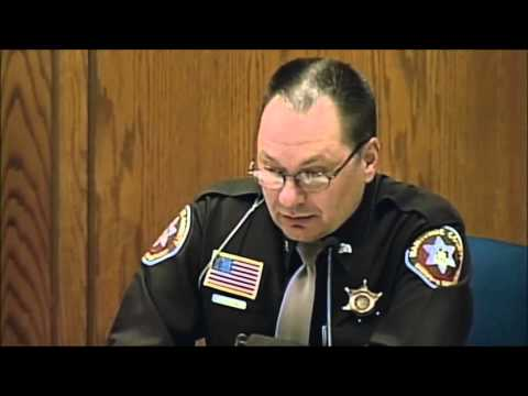 Making a Murderer.  Deputy calls in tag. Episode 5