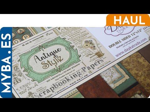 Novedades scrapbooking: Antique