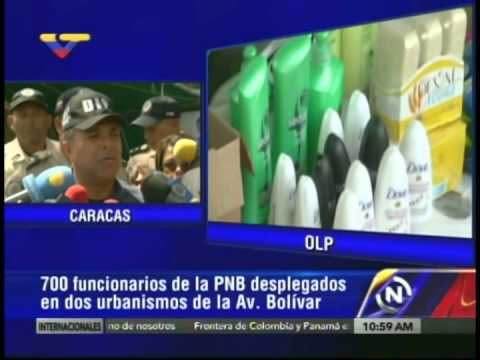 Director PNB informa sobre operativo en urbanismos Ojos de Agua y Omar torrijos en Av. Bolívar