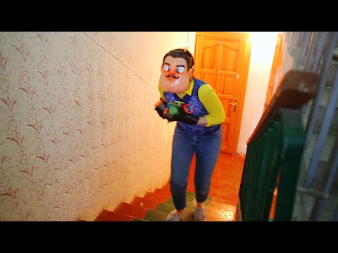 Привет СОСЕД Hello Neighbor сборник истории