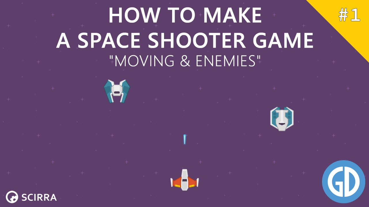 creating a space shooter game moving enemies construct 2 tutorial youtube