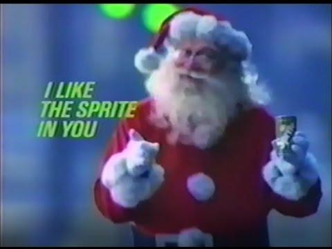 Sprite Soda Christmas Commercial 80's