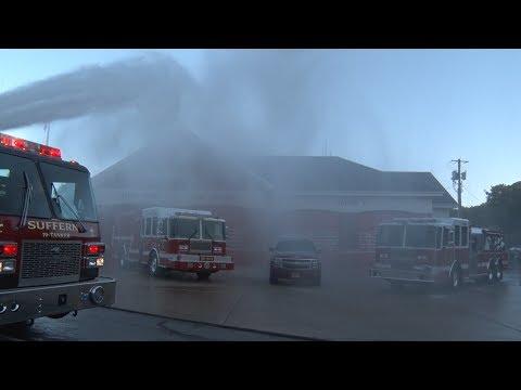 Stony Point,NY Fire District Triple Wetdown  6/3/17