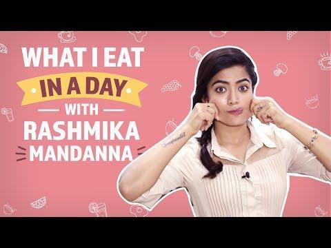 What I eat in a day with Rashmika Mandanna | Pinkvilla | Lifestyle | Sarileru Neekevvaru