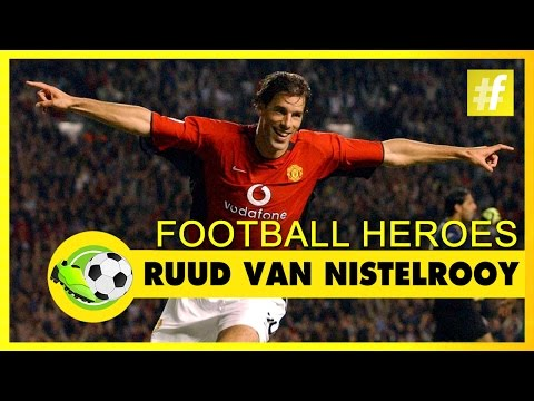 Ruud van Nistelrooy | Football Heroes | Full Documentary