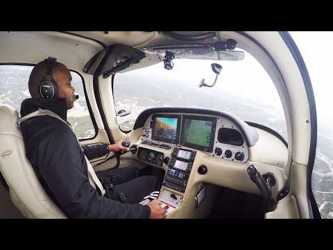 CIRRUS SR22 - BOSE A20 TEST & AWESOME TOUCH & GOS