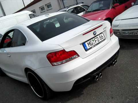 Insideperformance M1 Look Custom Quad Exhaust For All Bmw E82 And