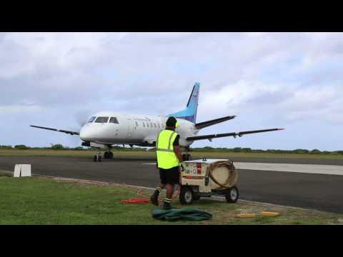 Iles Cook Aitutaki Aéroport d'Aitutaki / Cook islands Aitutaki airport
