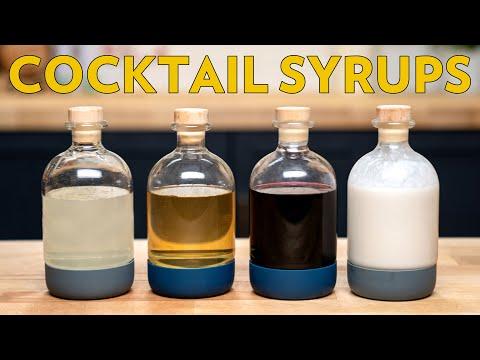 Basic Syrups Vol. II Rich Simple, Cinnamon, Cream Of Coconut, Lazy Grenadine