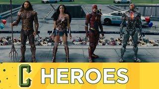 Justice League Comic-Con Trailer Released, Ben Affleck Talks Batman - Collider Heroes