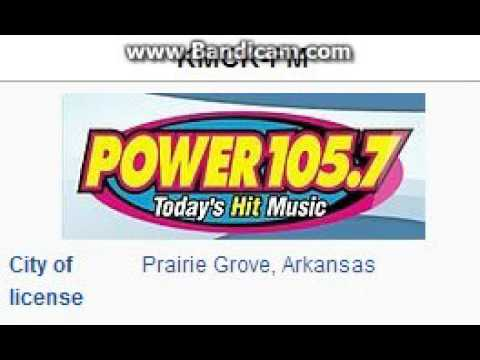 "REDIO 2015 EXTRA: KMCK-FM: ""Power 105.7"" Prairie Grove, AR 5pm TOTH ID--10/08/15"