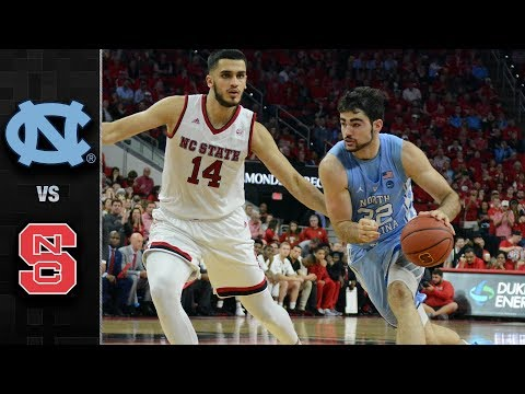 North Carolina vs. NC State Basketball Highlights (2017-18)