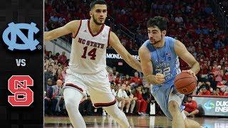 North Carolina vs. NC State Basketball Highlights (2017-18)