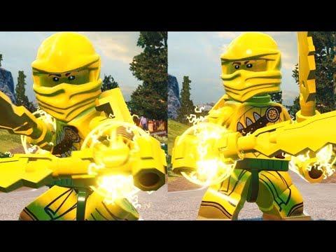 LEGO DC Super Villains - Custom GOLD NINJA from Ninjago |