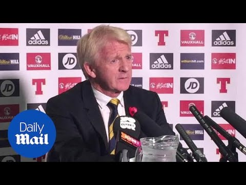 'Formidable Foe': Scotland Manager Strachan On England Match - Daily Mail