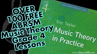 Over 100 FREE ABRSM Grade 4 Music Theory lessons workbook and past exam practice papers