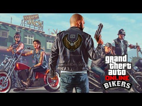 Jogar GTA Online: Motoqueiros