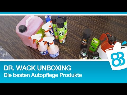die besten autopflegeprodukte dr wack unboxing youtube. Black Bedroom Furniture Sets. Home Design Ideas