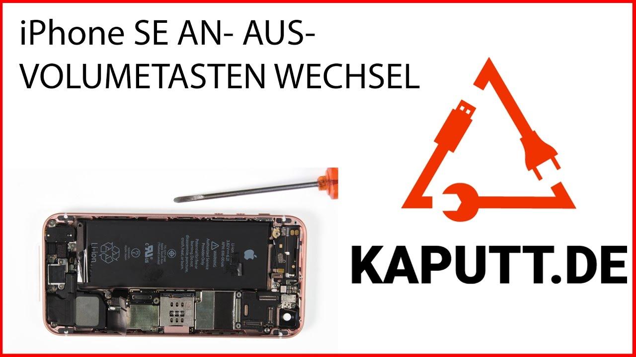 IPhone SE Lautstärke / Power Button Günstig Reparieren