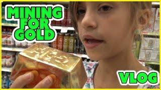 WE MINE FOR GOLD!!! | Do wE GeT LuCkY!? | FAMILY VLOG | SMELLYBELLYTV
