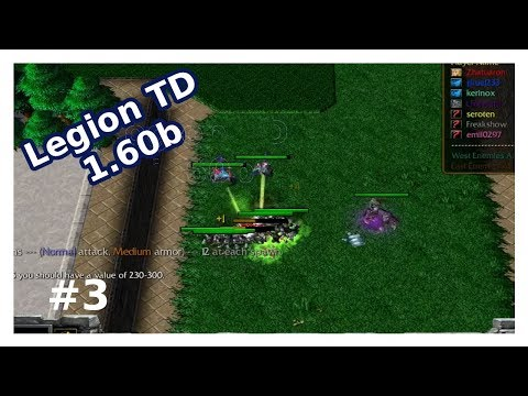 Legion TD 1.60b #3 | Nature & Marine