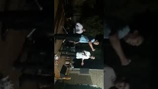 Aman Kadyrow bilen Yagsy Goshunow toyda aydym aydyşyarlar