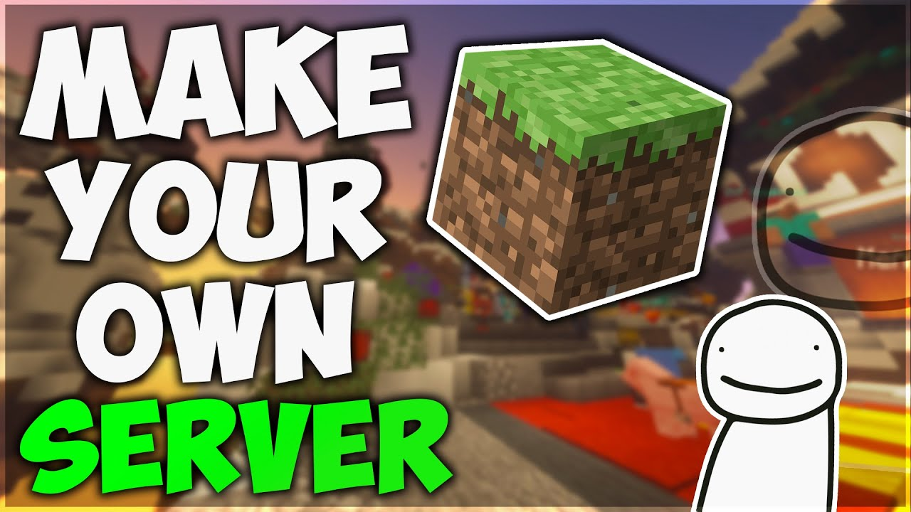 HOW TO MAKE YOUR OWN MINECRAFT 20.206.20+ SMP SERVER Just Like DREAM  20220