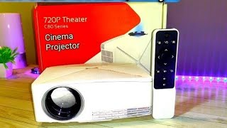 VIVIBRIGHT C80 LCD Home Theater Projector Unboxing & Review | BR Tech Films |
