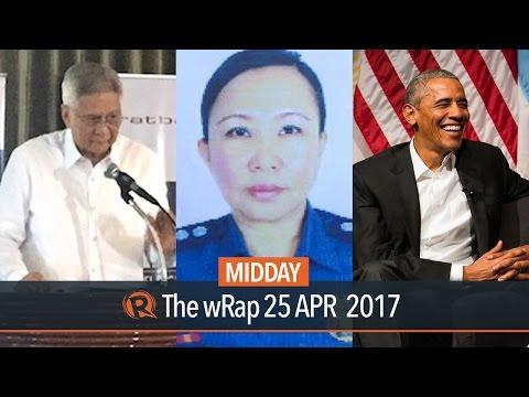 Nobleza, Del Rosario, Obama | Midday wRap