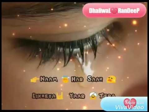 Ve tu Kasam khwa ke ki puchda by ranjeet rana 30 sec whats app video status