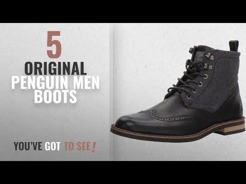 Top 10 Original Penguin Men Boots [ Winter 2018 ]: Original Penguin Men's Nathan Harness Boot,