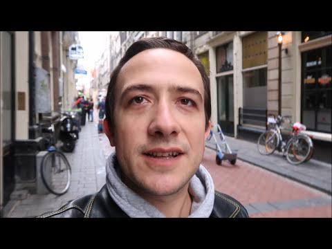 Travel vlog: Tur pietonal gratuit in Amsterdam   Amsterdam free walking tour