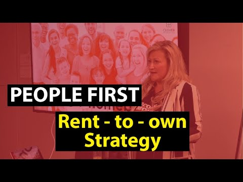 How the People First Rent to Own Strategy Works