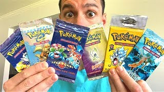 *I OPENED EVERY PACK!* The RAREST Pokemon Cards Opening!