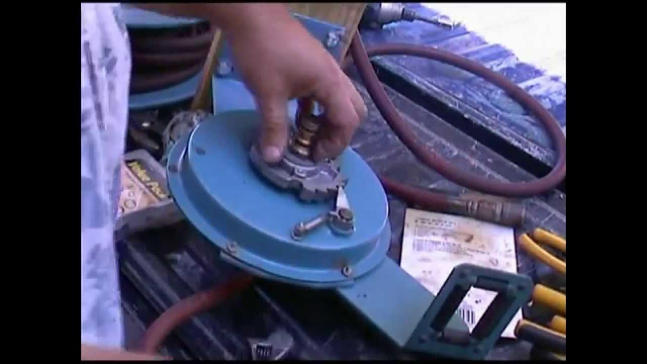 & Hosetract LB 330 Hose Reel Repair - YouTube