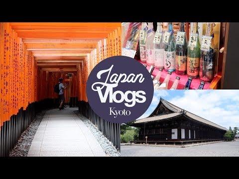 Temples and Markets in Kyoto! Fushimi Inari, Sanjusangendo, Nishiki Market! Japan Summer 2017
