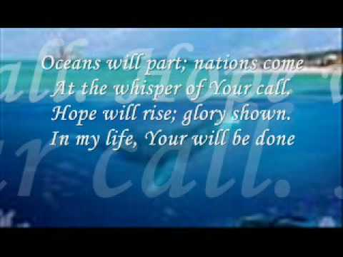 Oceans Will Part by Hillsong