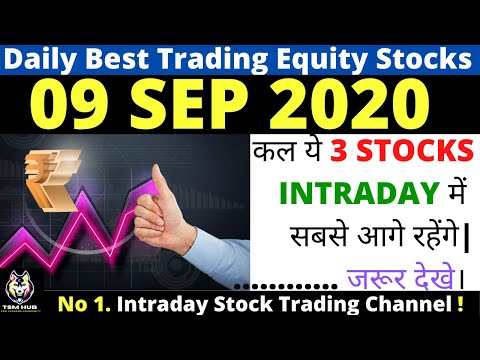 Best Intraday Trading stocks for Tomorrow [09 SEP 2020] | Intraday Trading with TheStockMantra