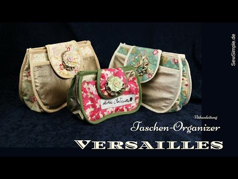 Taschen-Organizer nähen | Versailles | Näh-Anleitung