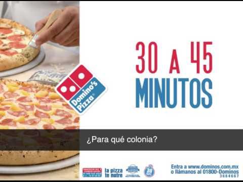 Domino s pizza de 30 a 45 minutos fracciorama campeche for Cocinar en 30 minutos