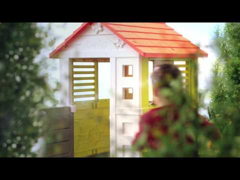 Maison Nature de Smoby - YouTube