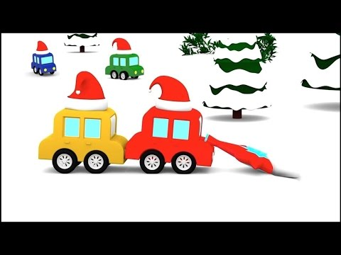 Thumbnail: Cartoon Cars - SNOW DIVING! - Christmas Cartoons for Children - Videos for Kids - Cartoons for Kids