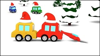 Cartoon Cars - SNOW DIVING! - Christmas Cartoons for Children - Videos for Kids - Cartoons for Kids