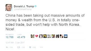Трамп критикует Китай за