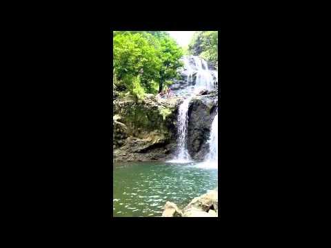 Cliff jump Balagbag falls, Real Quezon