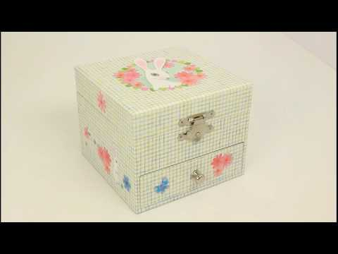 Children's Musical Jewellery Box - Little Rabbit  www.beckyandlolo.co.uk
