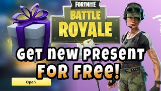 How to Get the New Fortnite Present for Free (Skin, Dance, Backpack Twitch Prime) + Victory Royale