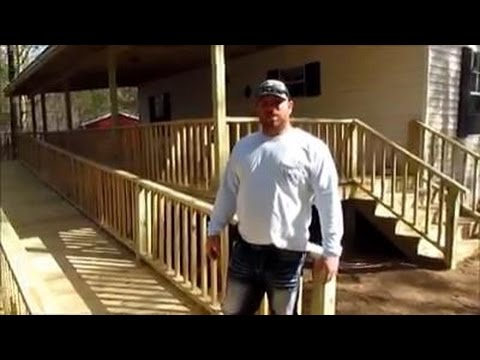 How to Build a Deck, Porch and Wheelchair Ramp