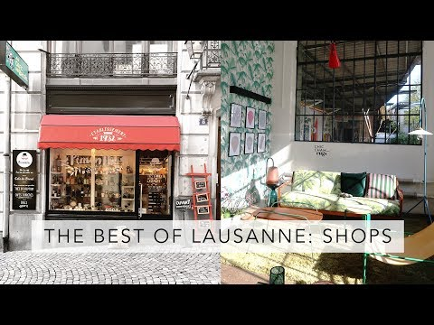 Where to shop in Lausanne Switzerland | Sofia Clara